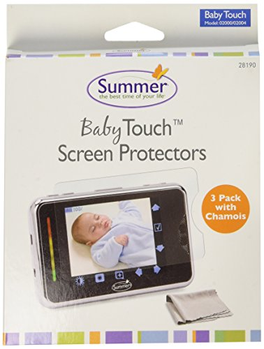 Summer Infant 02000/02004 Baby Touch Screen Protectors with Chamois - 1