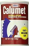 Calumet Baking Powder, 7 Ounce Can