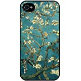 S9Q Sakura Vintage Flower Watercolor Art Tribal Tree Pattern Hard Back Skin Case Cover For Apple iPhone 4 4G 4S Style B