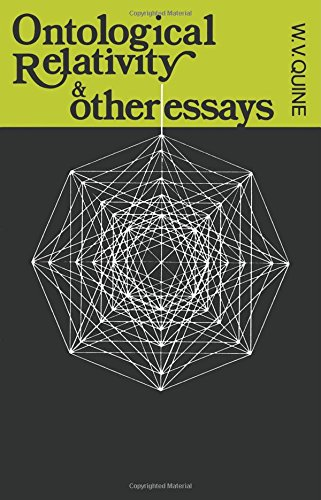 Ontological relativity: and other essays