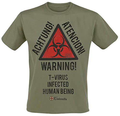 Resident Evil Biohazard T-Shirt verde oliva XXL