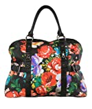 Iron Fist Roaming Heart Floral Overnight Bag