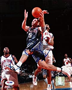 Jason Kidd Autographed Hand Signed 8x10 Photo Nets PSA DNA #S40712 by Hall of Fame Memorabilia