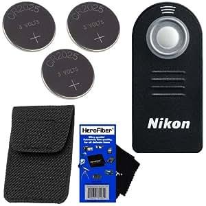 Amazon.com : Nikon ML-L3 Wireless Remote Control for D40