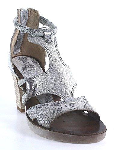 Mjus, Sandali donna Argento argento, Argento (argento), 41 EU