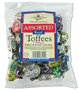 Walkers Assorted Nonsuch Toffee/ Eclair 150g