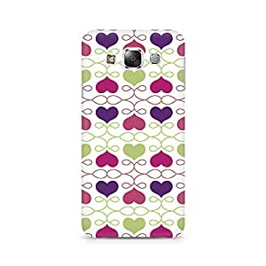 Mobicture Heart Pattern Premium Printed Case For Samsung Grand 3 G7200
