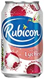 Rubicon Lychee Sparkling Drink 330 ml (Pack of 24)