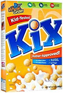 Kix Cereal, 8.7-Ounce Boxes (Pack of 6)