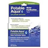 Potable Aqua Chlorine Dioxide Tablets Qty 20