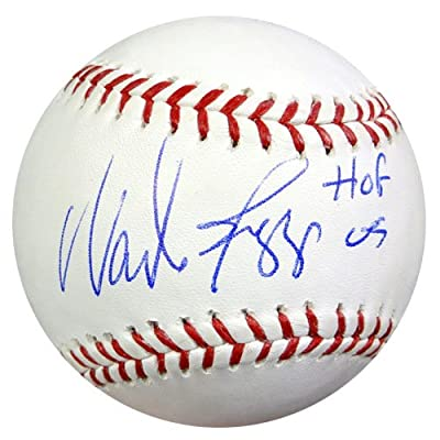 "Wade Boggs Autographed Official MLB Baseball Boston Red Sox ""HOF 05"" PSA/DNA Stock #48266"