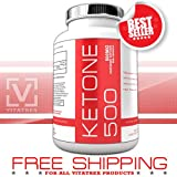 Raspberry Ketones, 500mg Pure Raspberry Ketones per Capsule, 120 Vegetarian Capsules per bottle: MAXIMUM POTENCY