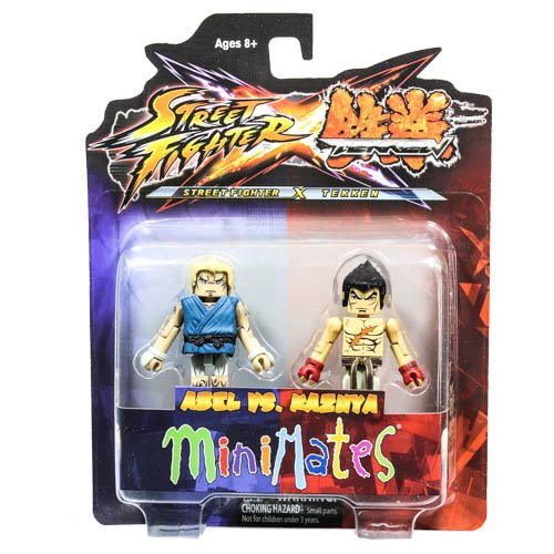 Diamond Select Toys Street Fighter X Tekken Minimates Series 2: Abel vs Kazuya, 2-Pack