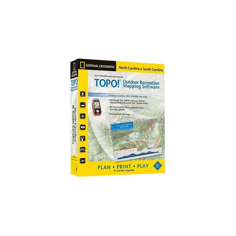 TOPO National Geographic USGS Topographic Maps (North