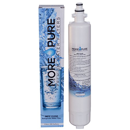 GE RPWF (Not RPFWE) Compatible Refrigerator Water Filter by MORE Pure Filters - MPF15350
