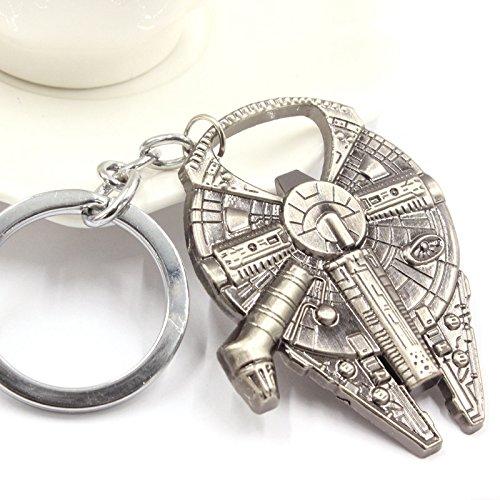 ETGtek(TM) Star Wars Spaceship valvola Metal Keychain portachiavi Spaceship Beer Bottle Opener