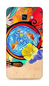 Amez designer printed 3d premium high quality back case cover for Samsung Galaxy A7 (2016 EDITION) (Blossom)