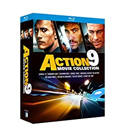 Action 9 Movie Collection [Blu-ray]