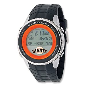 Mens MLB San Francisco Giants Schedule Watch by Jewelry Adviser Mlb Watches