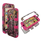 Hybrid Tuff Pink Sawgrass Camo Camoflauge Sky Apple Iphon iphone 5C at&t. Verizon