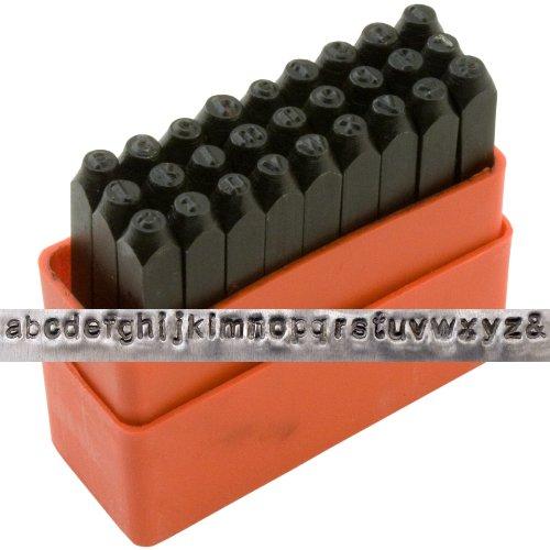 Lowercase Metal Stamping Set 1 8 011499350200 2200