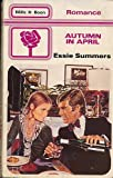Autumn in April (0263735133) by Summers, Essie