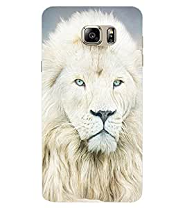 ColourCraft Lion Look Design Back Case Cover for SAMSUNG GALAXY NOTE 7