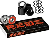 Bones Reds Precision Skate Bearings With FREE Bones Spacers & Speed Washers