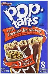 Kellogg\'s Pop Tarts Chocolate Chip Cookie Dough, 14.1 oz