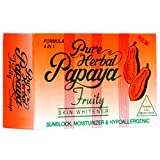 Pure Herbal Papaya Soap Skin Whitening Soap, 135gm