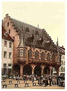 Photo The Market Freiburg Baden A4 10x8 Poster Print