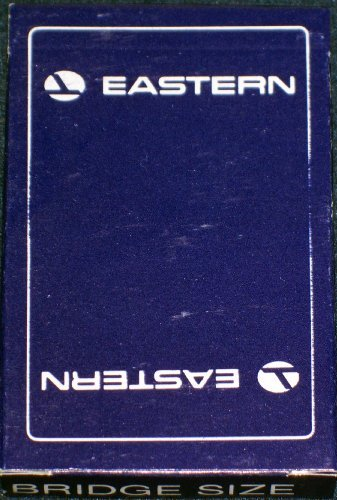 Let's Play Bridge! Eastern Airlines Playing Cards, 1970's - 1