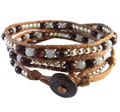 lun-na-asiatique-bracelet-wrap-fait-main-100-perles-en-bois-rhodium-quartz-couleur-gris-brun-ficelle