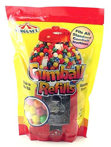 Assorted Gumballs Refill ~ 16 oz (Small Gumballs For Candy Machine compare prices)