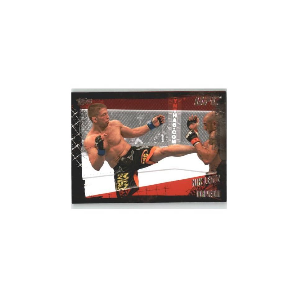 2010 Topps UFC Trading Card # 30 Nik Lentz (Ultimate
