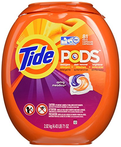 Tide Pods He Turbo Laundry Detergent Packs, Spring