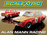 Scalextric C2981A 1:32 Scale Alan Mann Ford Escort/ Lotus Cortina High Detail Limited Edition Car