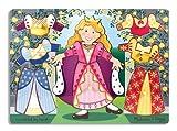 Melissa & Doug 13291 - Puzle, diseño de princesa y vestidos