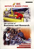 IBS Journal of Business and Research, Volume 2