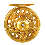 Piscifun Fly Fishing Reel, 5/6 Wt, Gold