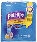 Huggies Pull-Ups Training Pants for Boys with Learning Designs, Jumbo Pack, Size 3T-4T, 23 ct
