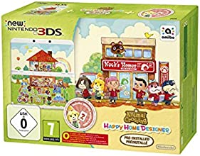 Console New Nintendo 3DS + Animal Crossing : Happy Home Designer préinstallé
