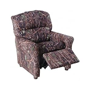 Kids Camouflage Recliner Children Camo Armchair Sofa Chair Couch Cotton Fabric