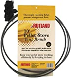 Rutland 3-Inch Pellet Stove/Dryer Vent Brush with 20-Feet Handle