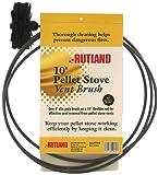 Rutland 3-Inch Pellet Stove/Dryer Vent Brush with 20-Feet Handle