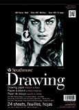 "Strathmore Medium Drawing Spiral Paper Pad 18""X24""-24 Sheets"