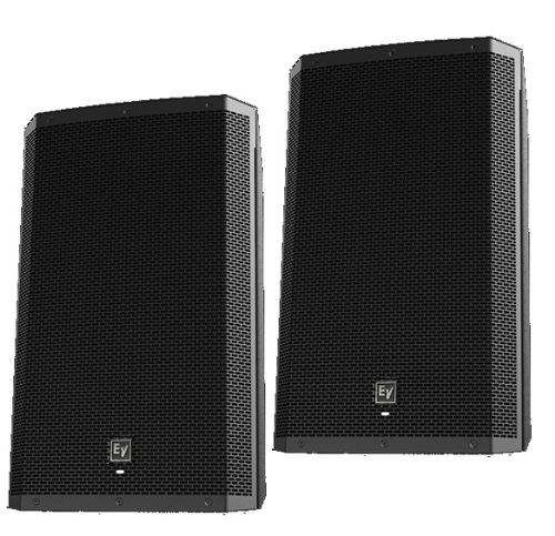 "Ev Electro-Voice Zlx-15P Powered Active 15"" 2Way Dj Pa Speakers Zlx15P- Pair New"