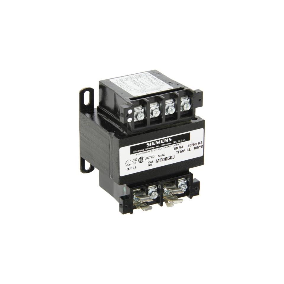 Siemens MT0050F Control Transformer 50VA 50//60HZ Temp CL 105° C