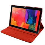 Bingsale Folio Slim Fit Leather Smart Cover Case with Auto Sleep / Wake Feature for Samsung Galaxy Tab Pro 12.2 (orange)