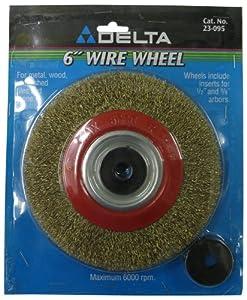 Amazon Com Delta 23 095 6 Inch Bench Grinder Wire Wheel